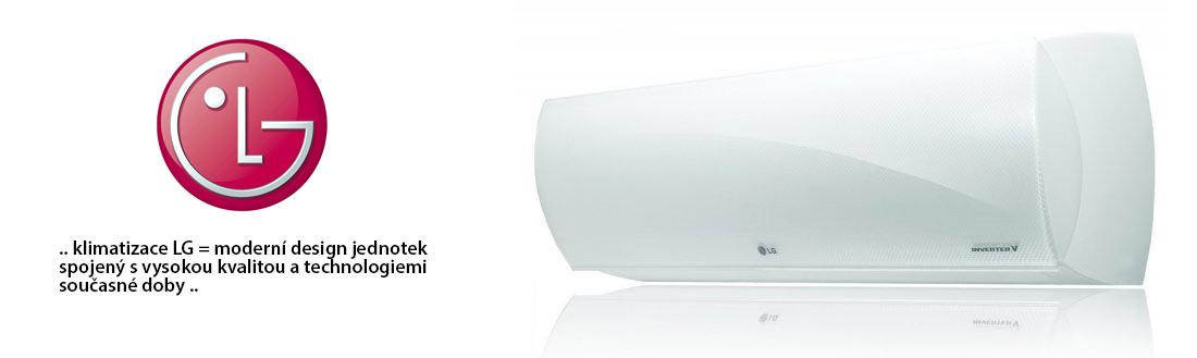 Klimatizace LG - moderní design jednotek spojený s vysokou kvalitou a technologiemi současné doby