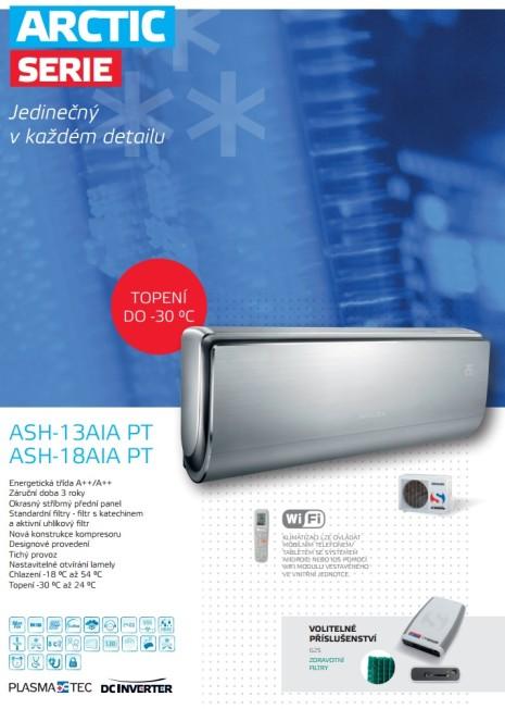Klimatizace SINCLAIR Arctic ASH-18AIA | Popis klimatizace od výrobce