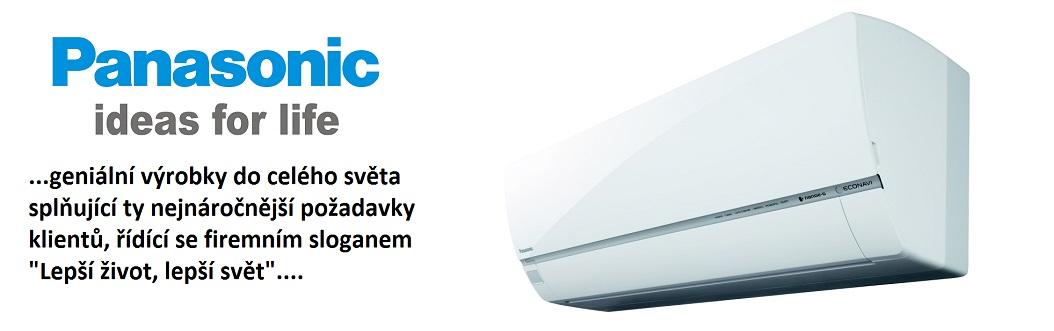 Klimatizace Panasonic - geniální výrobky z celého světa splňující ty nejnáročnější požadavky klentů