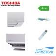 Klimatizace TOSHIBA Super Daiseikai 8 RAS G2KVP-E | Klimatizace do bytu